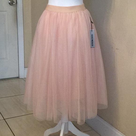 91ded0df31 Haute Monde Skirts | Sale Pastel Peach Tutu Tulle Skirt | Poshmark